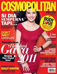 Lisa Surihani Cosmopolitan covergirl, Mizz Nina FHM covergirl 2011