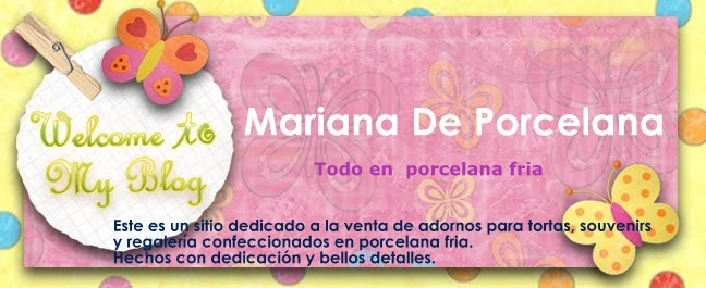 Mariana de Porcelana, Adornos y Souvenir