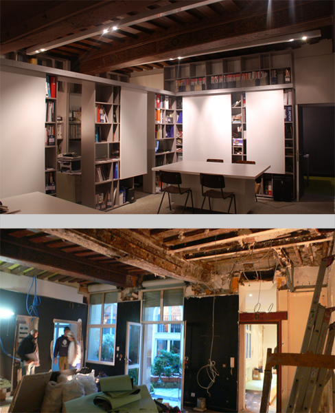 agence d 39 architecture int rieure parallel paris octobre 2010. Black Bedroom Furniture Sets. Home Design Ideas