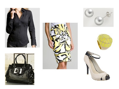 Business Casual Attire Pencil Skirt