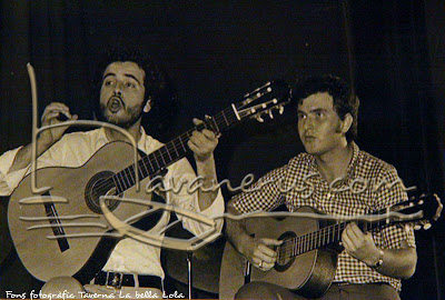 Càstor Pérez amb Xiqui Ramon
