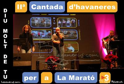 L'Empordanet a la Cantada d'Havaneres per a La Marató