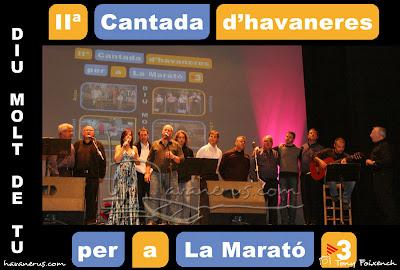 Cantada d'Havaneres per a La Marató