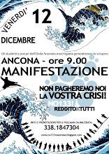 <b>Venerdì 12/12 Generalizziamo lo sciopero! Corteo in Ancona</b>