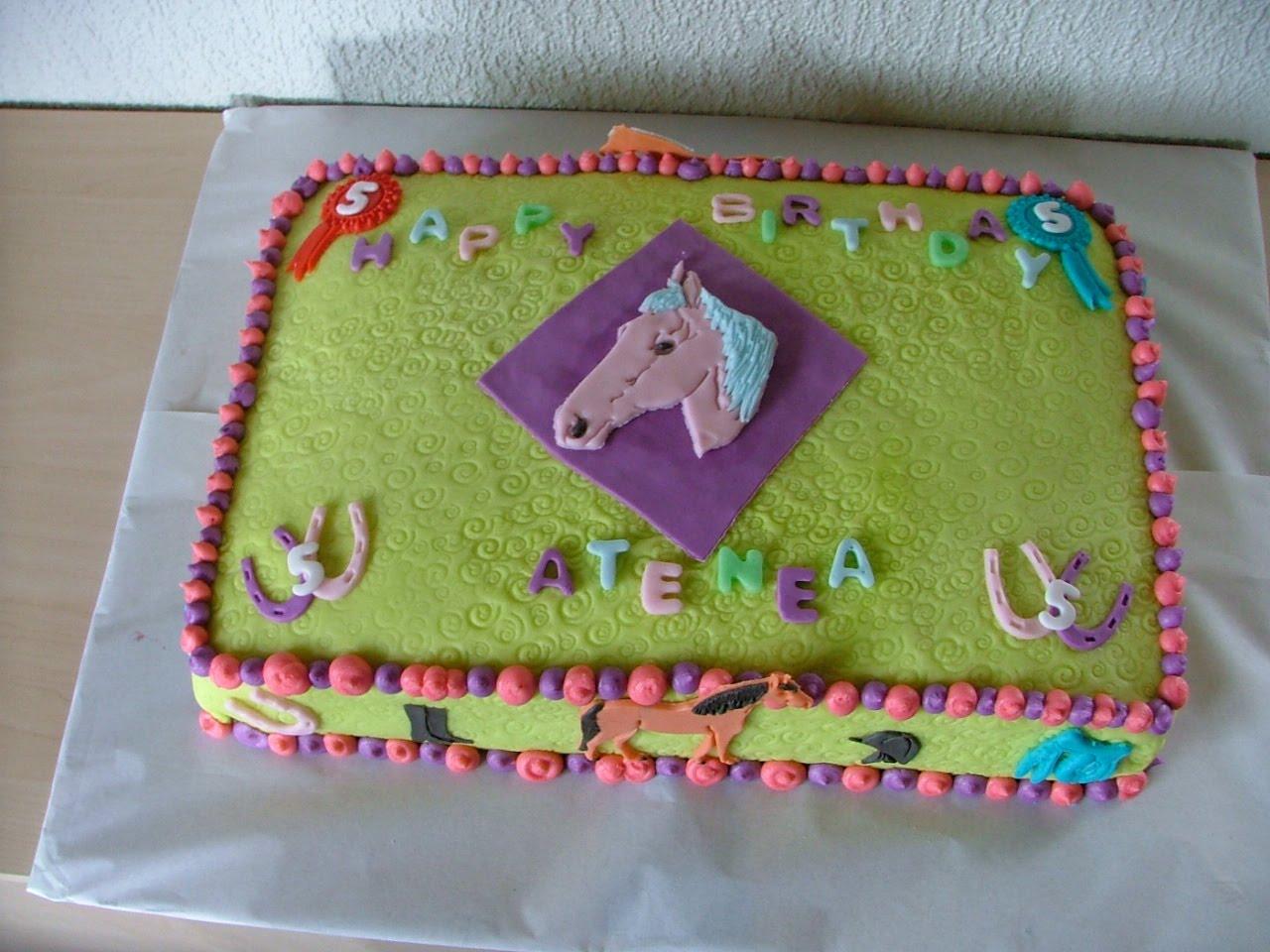 cake for horses