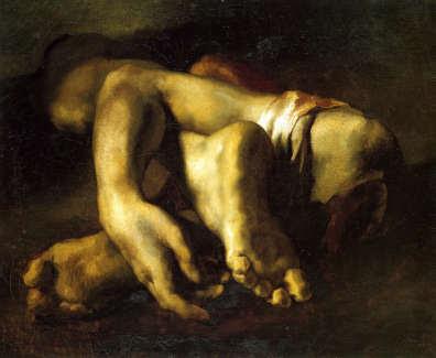 Crimes et châtiments, de Goya à Picasso - Musée d'Orsay - Paris - 16 Mars au 27 Juin 2010  dans EXPOSITIONS gericault-pied-main