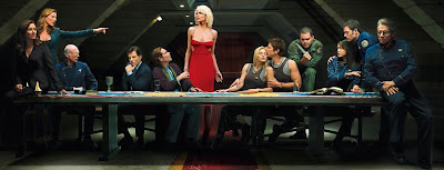 de Vinci Last supper Battlestar Galactica