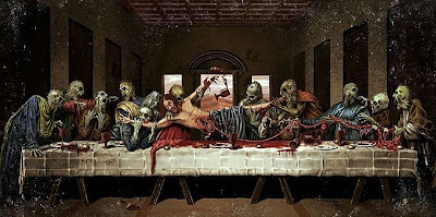 de Vinci Last supper zombis