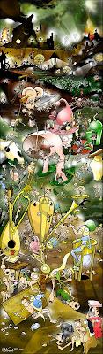 Bosch le jardin des délices meowza