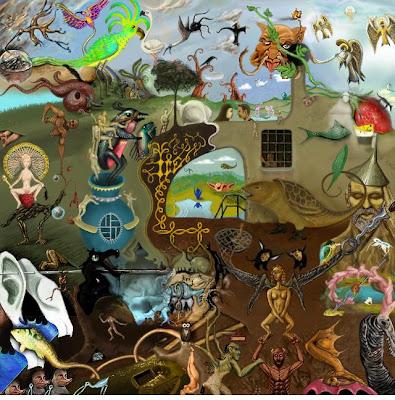 Bosch le jardin des délices collaborative artwork