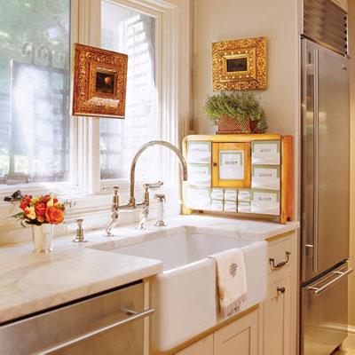 1930kitchen Modern Twist Farm Sink Concrete Countertops Kitchen Planner Tool