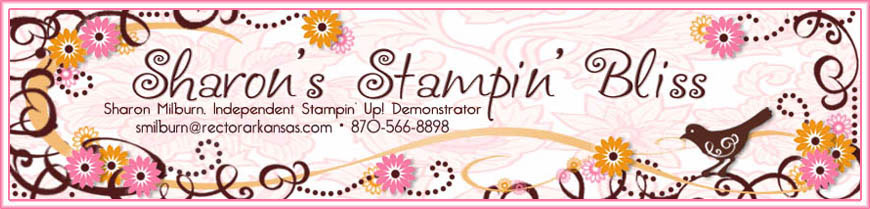 Sharon's Stampin' Bliss