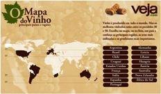 O mapa do vinho