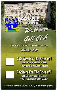 Golf discount coupon book colorado