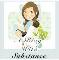 Award:  A Blog With Substance