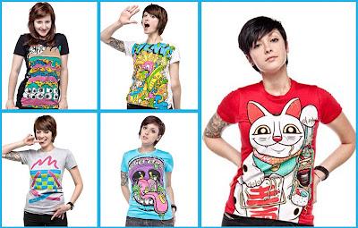 I love T-shirts!
