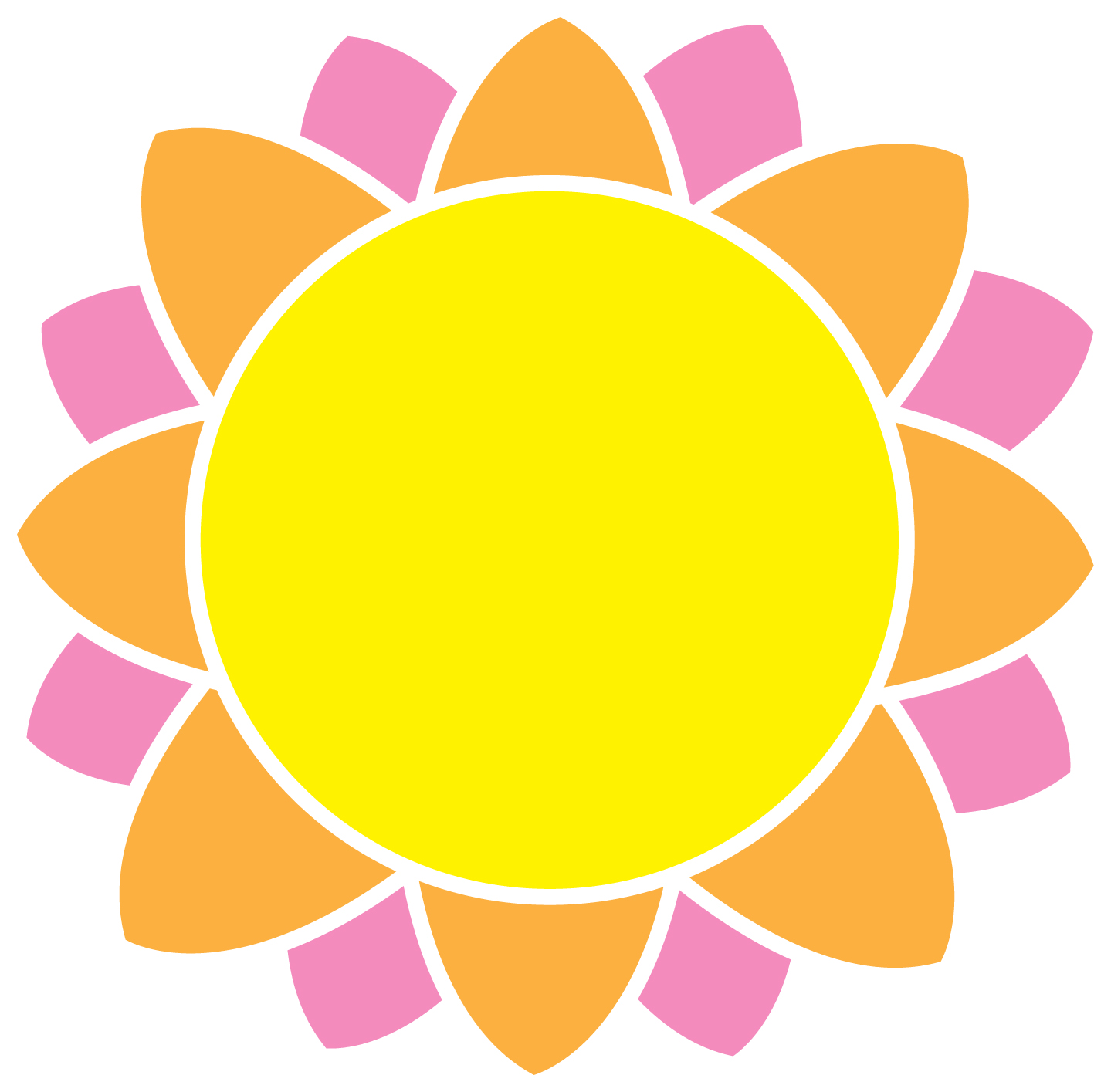 yellow green flower logo - photo #10
