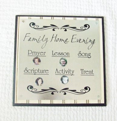 Super Saturday Craft Ideas | Magnetic FHE Board | Family Home Evening