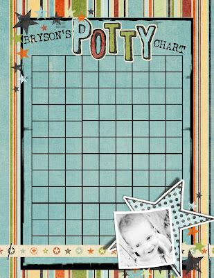 DIY Potty Training Charts - The Crafting Chicks