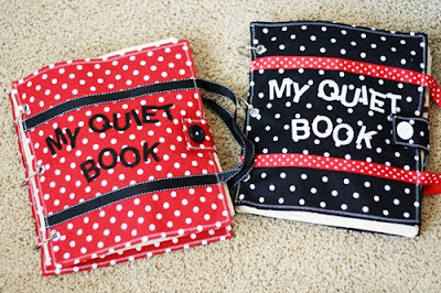 DIY Quiet Books for toddlers