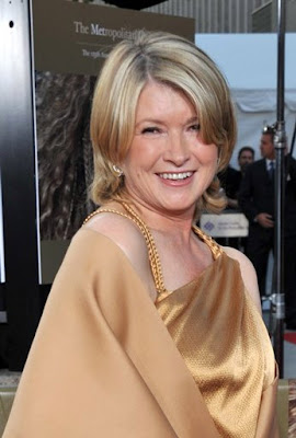 Actor Adrien was left cleaning up after Martha Stewart, when the television ...