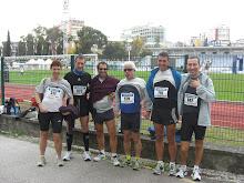 Amigos del Maraton de Lisboa 2009.
