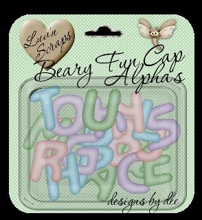 http://designsbydee.blogspot.com/2009/11/freebie-beary-fun-cap-alpha.html
