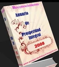"""Premio """"Anuario de Prosperidad Integral 2008"""""""
