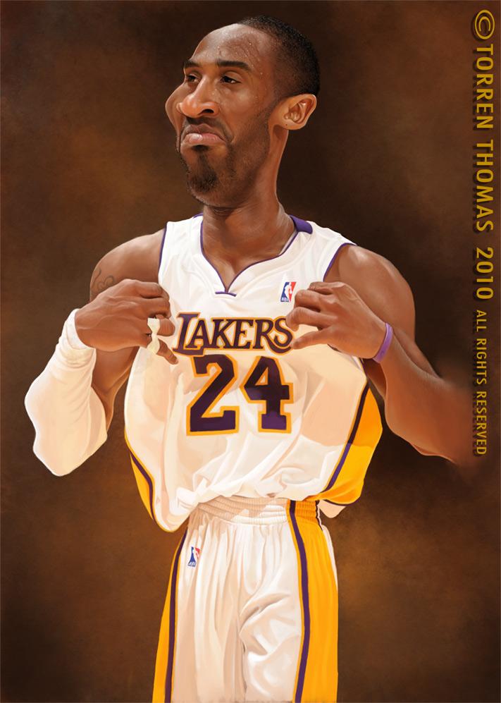 Kobe Bryant. by Torren Thomas http://www.torrenthomas.com