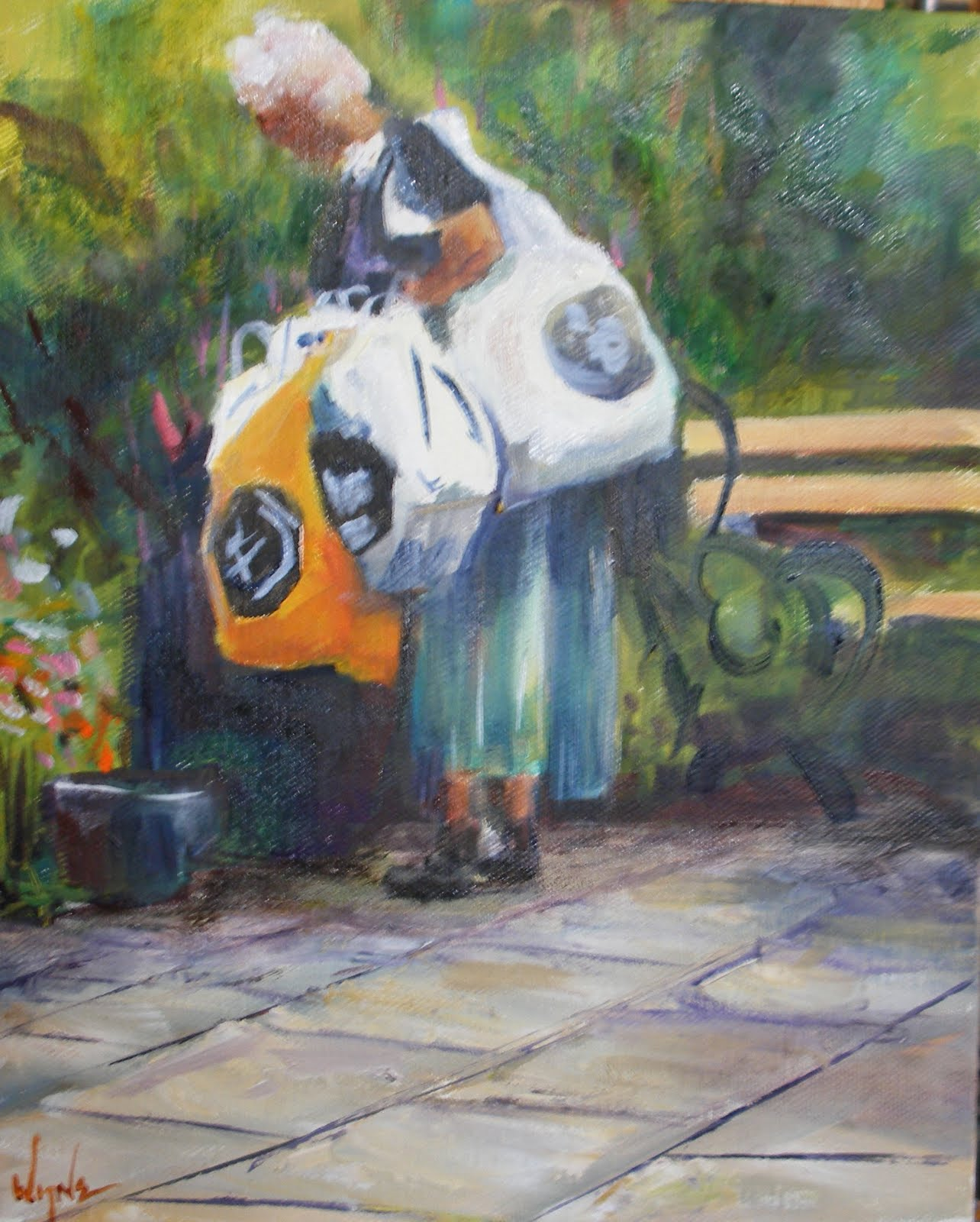 Art Bag Nyc Kay Wyne Fine Art Blog November 2009