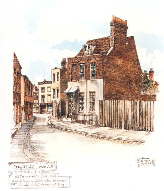 Old deptford history watergate street