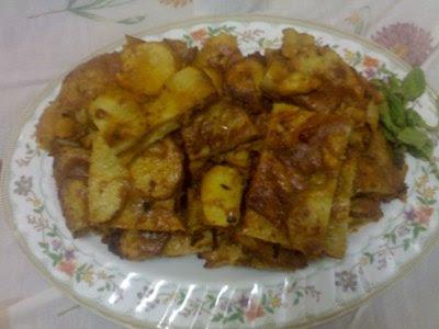 اطباق في الفرن بالبطاطس  2