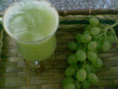 عصير العنب الابيض ............ بالصور  1