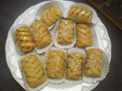 حلوى الضفيرة الجزائرية