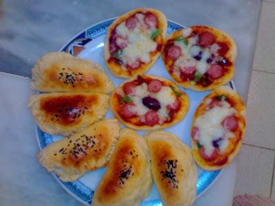 1 بيتزا بالخضر بالصور