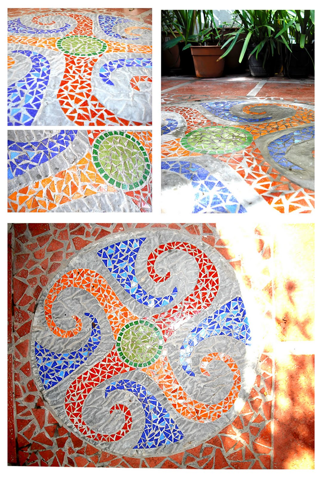 mosaicos artemisa dise o en mosaicos para jardin