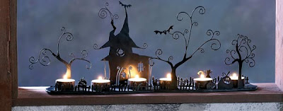 Tag Halloween decorations candles