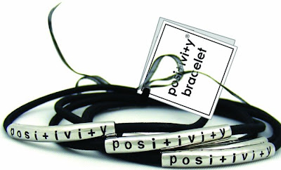 Alexa's Angels, Windsor, Colo., designed the Positivity bracelet