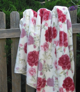 Blanket Barons Rosy 1 style of Chooty blankets and throws