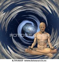 El hombre consciente con el universo