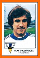 Classement historique des clubs 13-Jacky+DUGUEPEROUX+1979+Panini+Strasbourg
