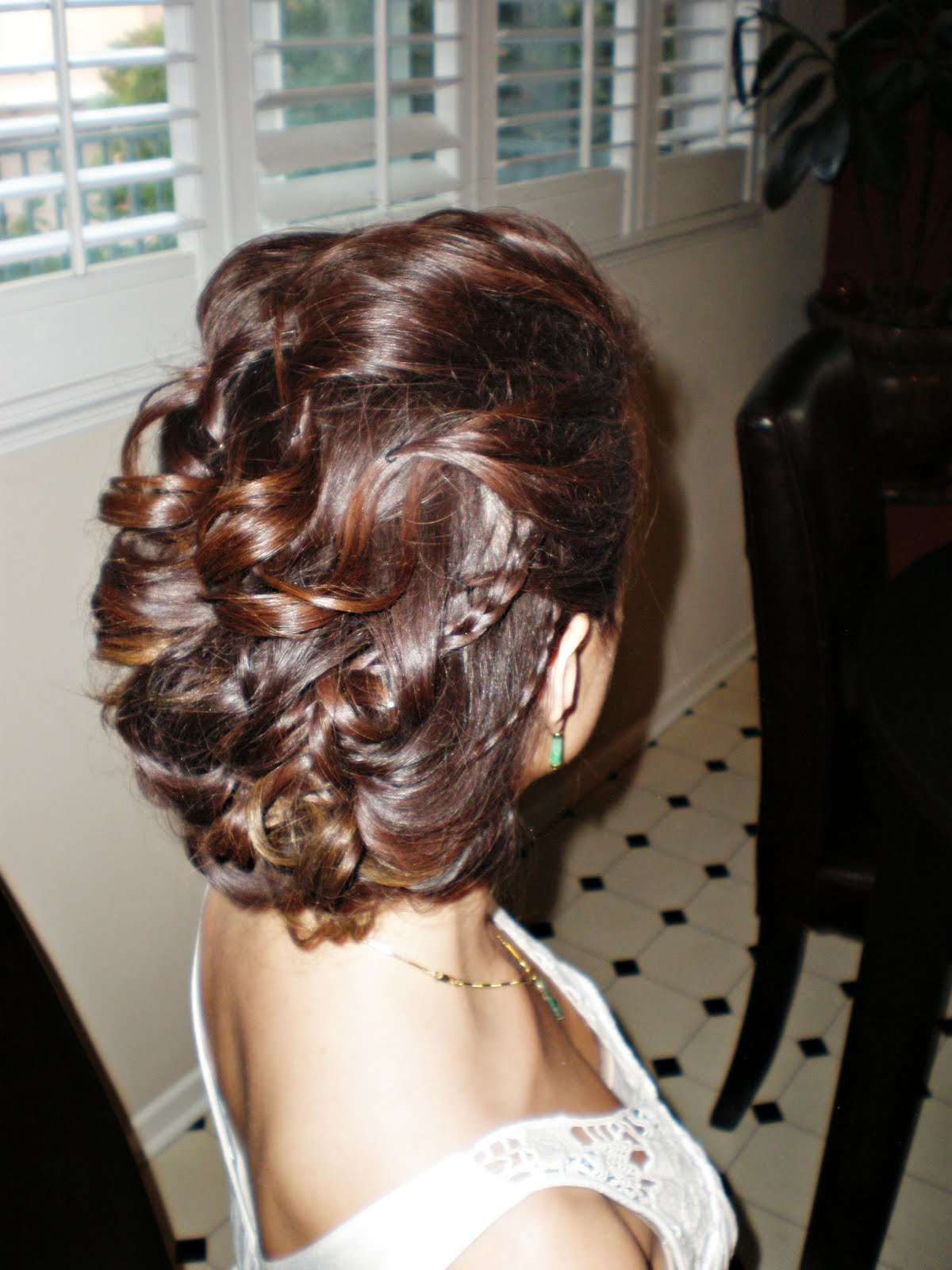 My 1st hair trial photo 1