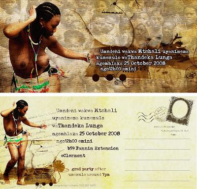 Silondile shongwe memulo invite stopboris Image collections
