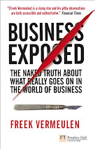 "Freek's book ""Business Exposed"""