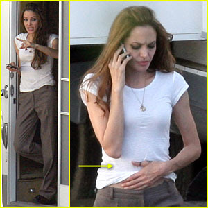Angeline Jolie Pregnant