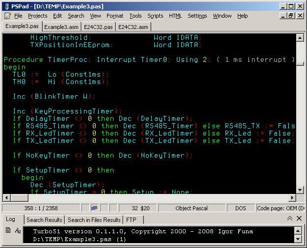 8051 IDE V1.16-Blizzard