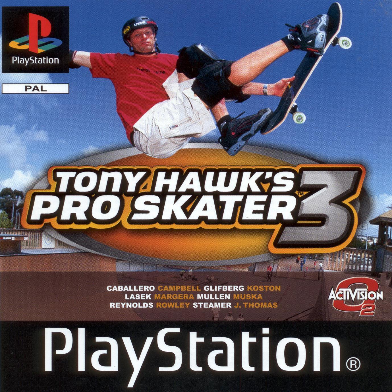 Tony Hawk's Pro Skater 3 é o terceiro jogo da conhecida série da