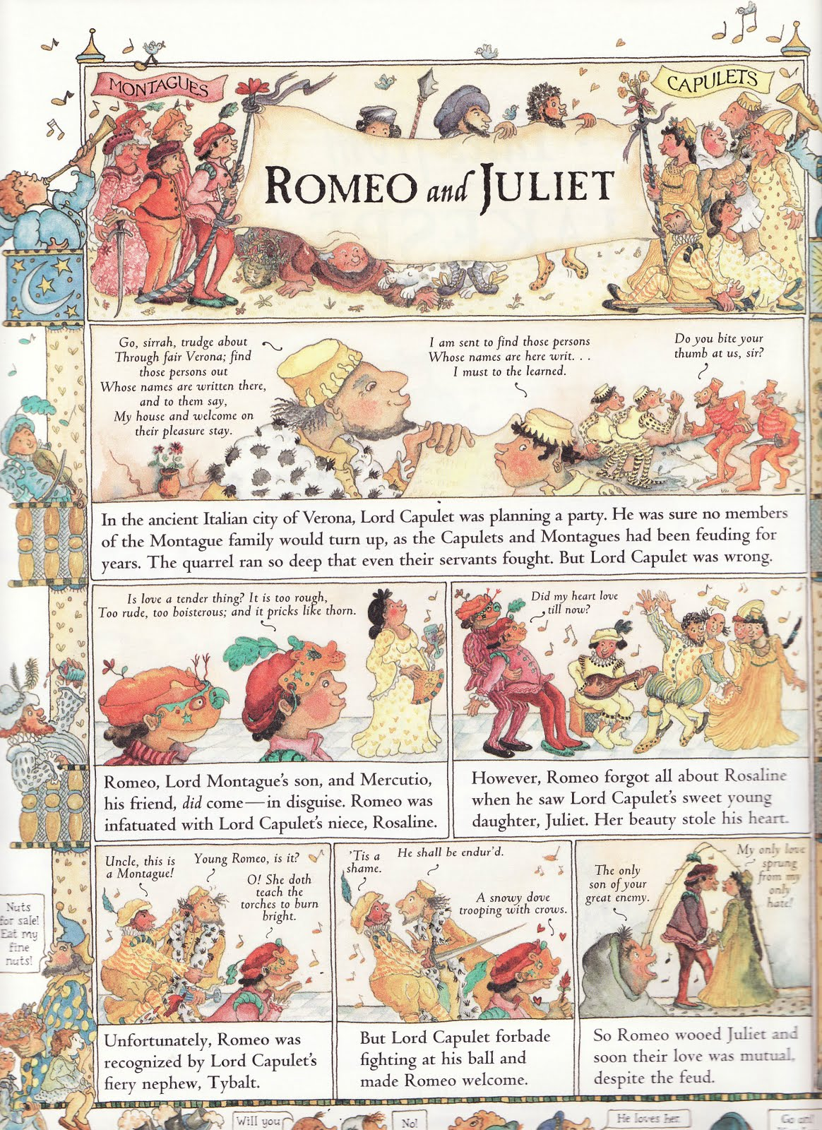 Romeo And Juliet Story For Kids