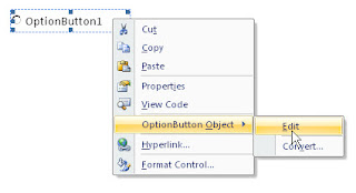 Edit option button
