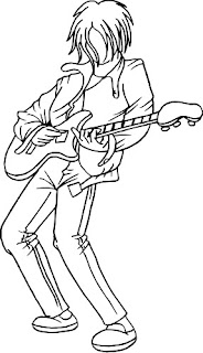 guitar player clip art